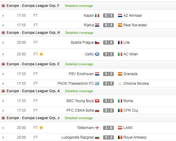 """Kết quả Europa League 23/10: """"Đại gia"""" ra quân tưng bừng - Ảnh 5."""