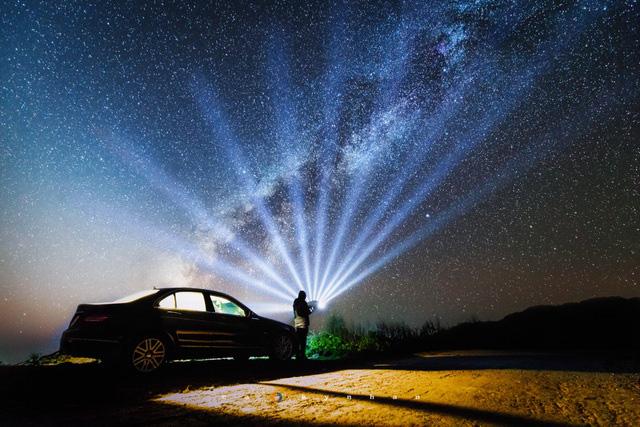 Chiêm ngưỡng dải ngân hà đẹp như phim ở Mù Cang Chải - Ảnh 7.