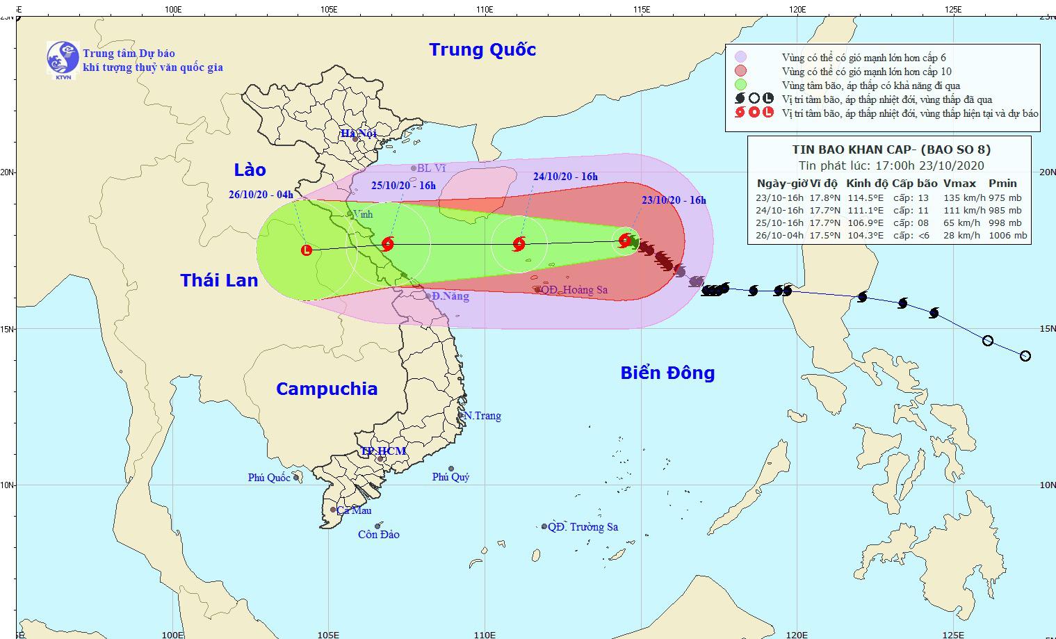 Chưa từng có: Một tháng đón 5 cơn bão, áp thấp, Hà Tĩnh, Thừa Thiên - Huế nguy cơ mưa lớn do bão số 8 - Ảnh 3.