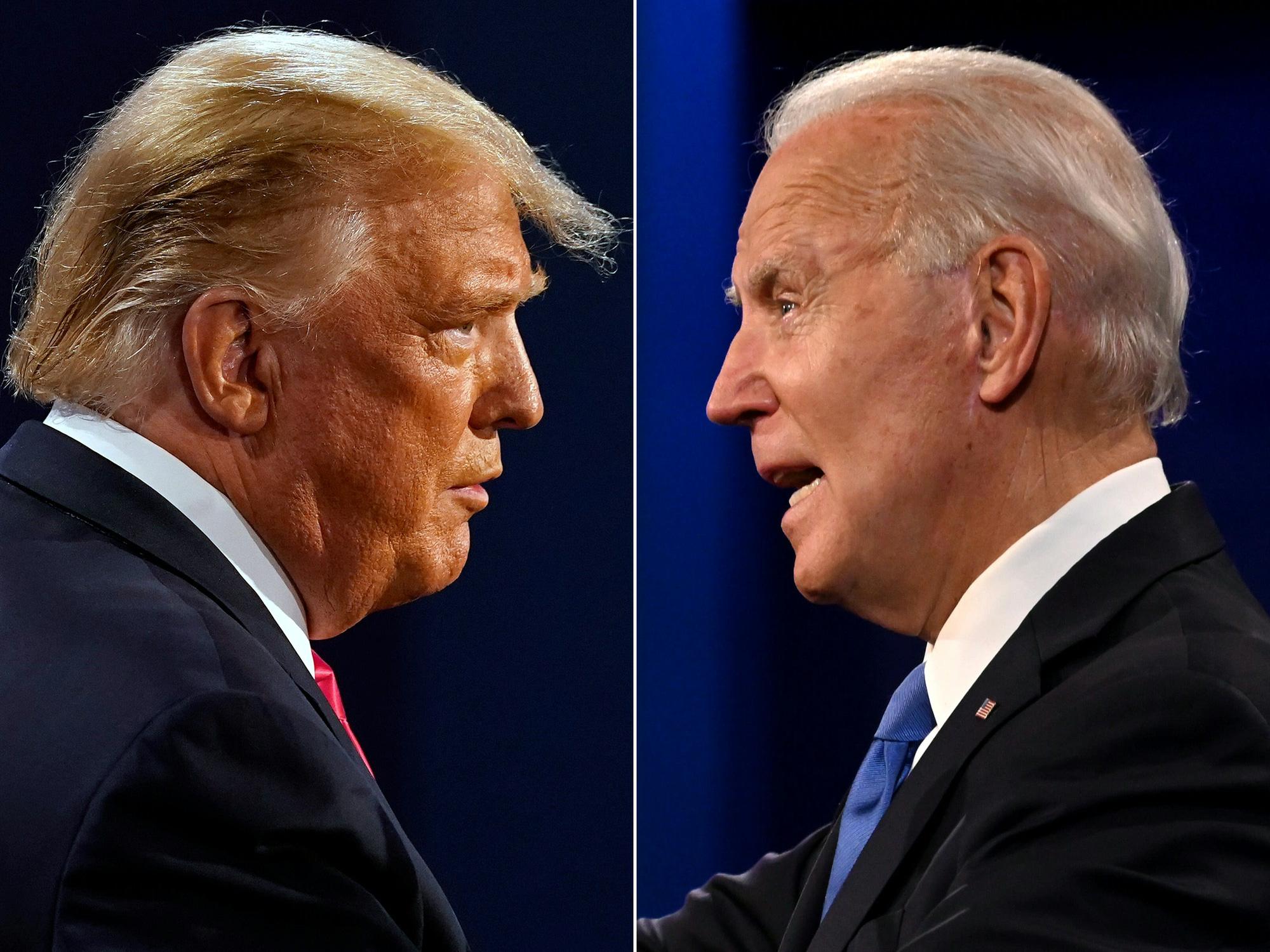 Kết quả thăm dò cử tri Mỹ mới nhất: Ông Trump không thắng bang nào - Ảnh 1.