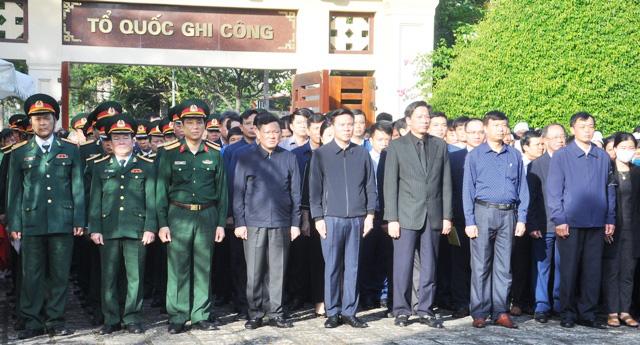 Lễ viếng, truy điệu ở quê nhà đại tá Lê Văn Quế, 1 trong 22 liệt sĩ đoàn 337  - Ảnh 2.
