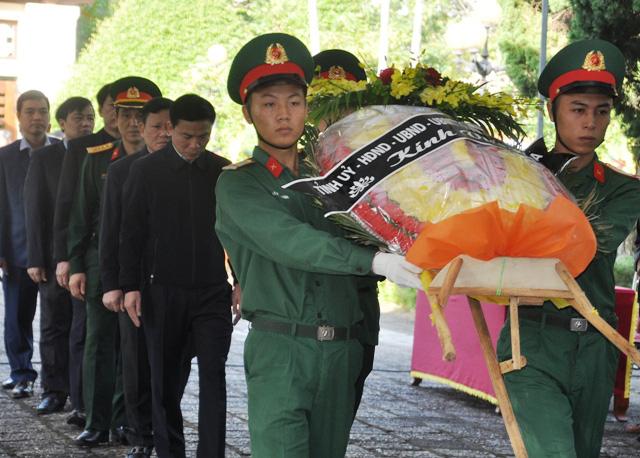 Lễ viếng, truy điệu ở quê nhà đại tá Lê Văn Quế, 1 trong 22 liệt sĩ đoàn 337  - Ảnh 3.