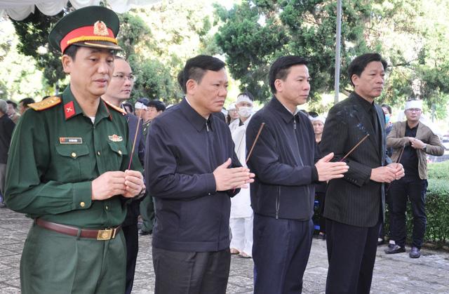 Lễ viếng, truy điệu ở quê nhà đại tá Lê Văn Quế, 1 trong 22 liệt sĩ đoàn 337  - Ảnh 4.