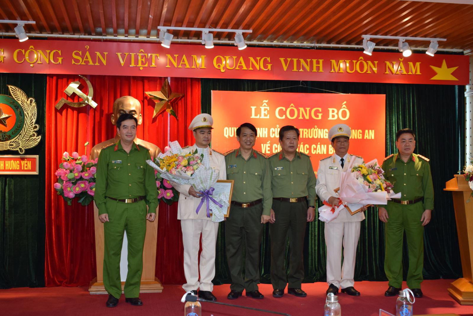 2 Phó Giám đốc Công an tỉnh Hưng Yên vừa được bổ nhiệm là ai? - Ảnh 1.