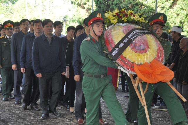 Lễ viếng, truy điệu ở quê nhà đại tá Lê Văn Quế, 1 trong 22 liệt sĩ đoàn 337  - Ảnh 6.