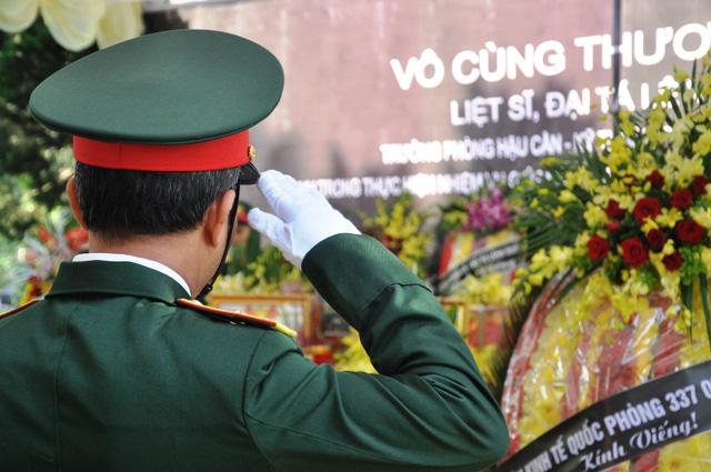 Lễ viếng, truy điệu ở quê nhà đại tá Lê Văn Quế, 1 trong 22 liệt sĩ đoàn 337  - Ảnh 12.