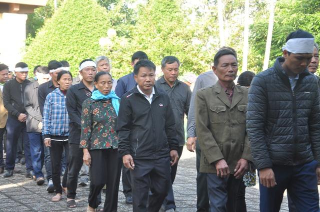Lễ viếng, truy điệu ở quê nhà đại tá Lê Văn Quế, 1 trong 22 liệt sĩ đoàn 337  - Ảnh 7.