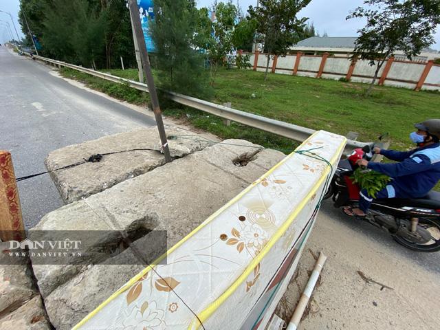"""Quảng Ngãi: Tường chắn """"nuốt"""" nhiều người ở đầu cầu Trà Bồng  - Ảnh 3."""