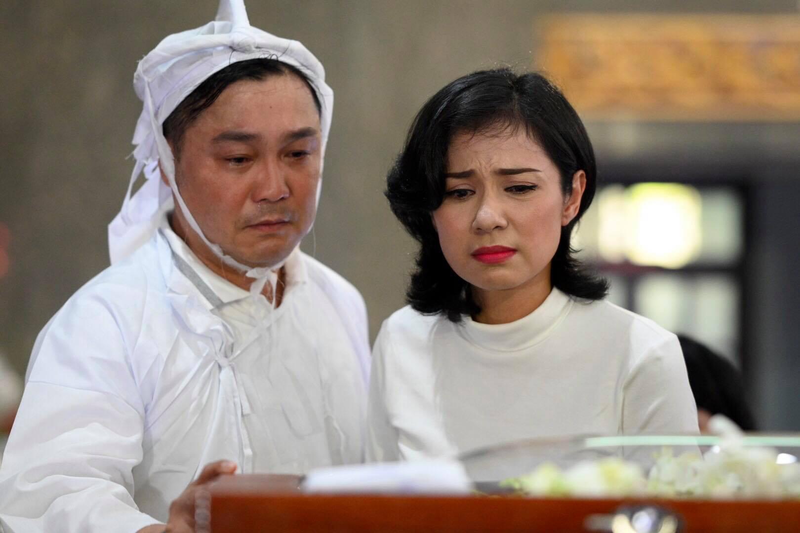 Phút cuối tiễn biệt NSND Lý Huỳnh khiến đồng nghiệp xót xa, 2 tâm nguyện chưa hoàn thành - Ảnh 2.