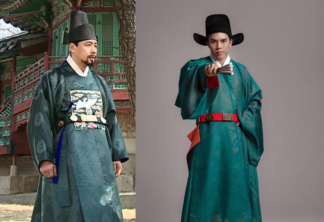 Trang phục vua quan Việt thời Lê có giống hanbok của Hàn Quốc? - Ảnh 1.