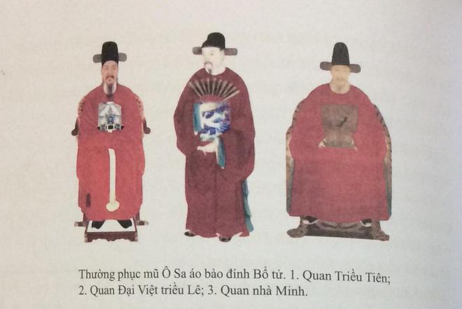 Trang phục vua quan Việt thời Lê có giống hanbok của Hàn Quốc? - Ảnh 3.