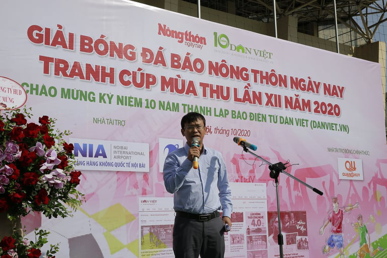Khai mạc Giải bóng đá NTNN/Dân Việt 2020: Nối vòng tay lớn hướng về miền Trung - Ảnh 5.
