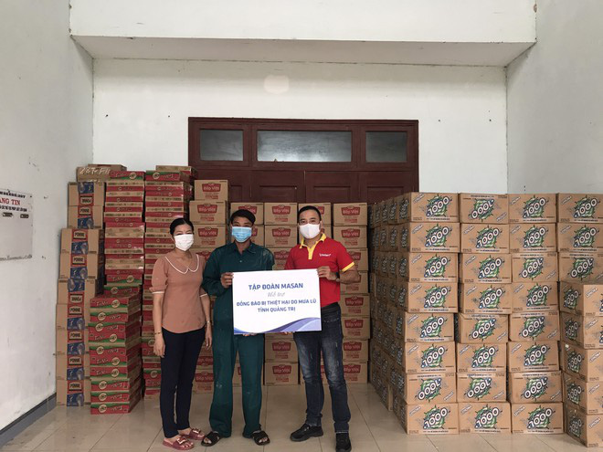 Masan ủng hộ 6 tấn thịt viên và hàng trăm ngàn sản phẩm đến miền Trung - Ảnh 2.