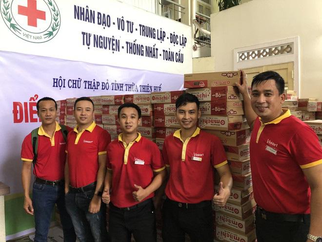 Masan ủng hộ 6 tấn thịt viên và hàng trăm ngàn sản phẩm đến miền Trung - Ảnh 6.