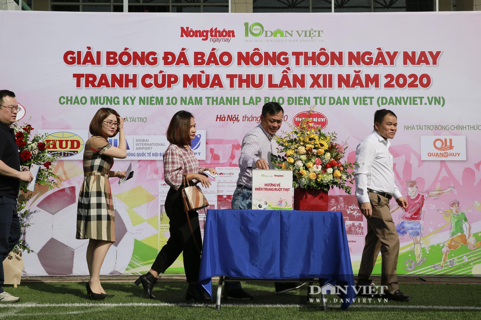 Giải bóng đá báo Nông thôn Ngày nay/Dân Việt lần thứ 12 chính thức khởi tranh - Ảnh 10.