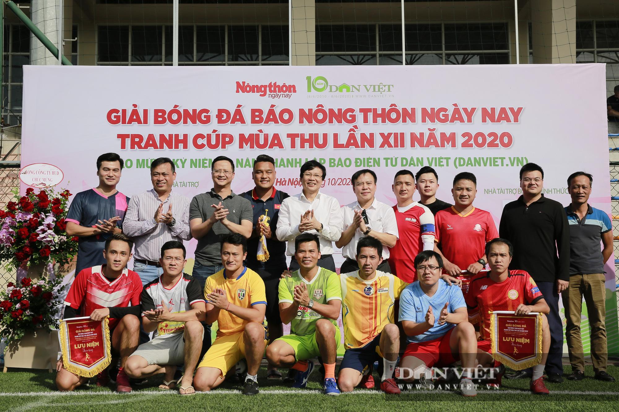 Giải bóng đá báo Nông thôn Ngày nay/Dân Việt lần thứ 12 chính thức khởi tranh - Ảnh 11.