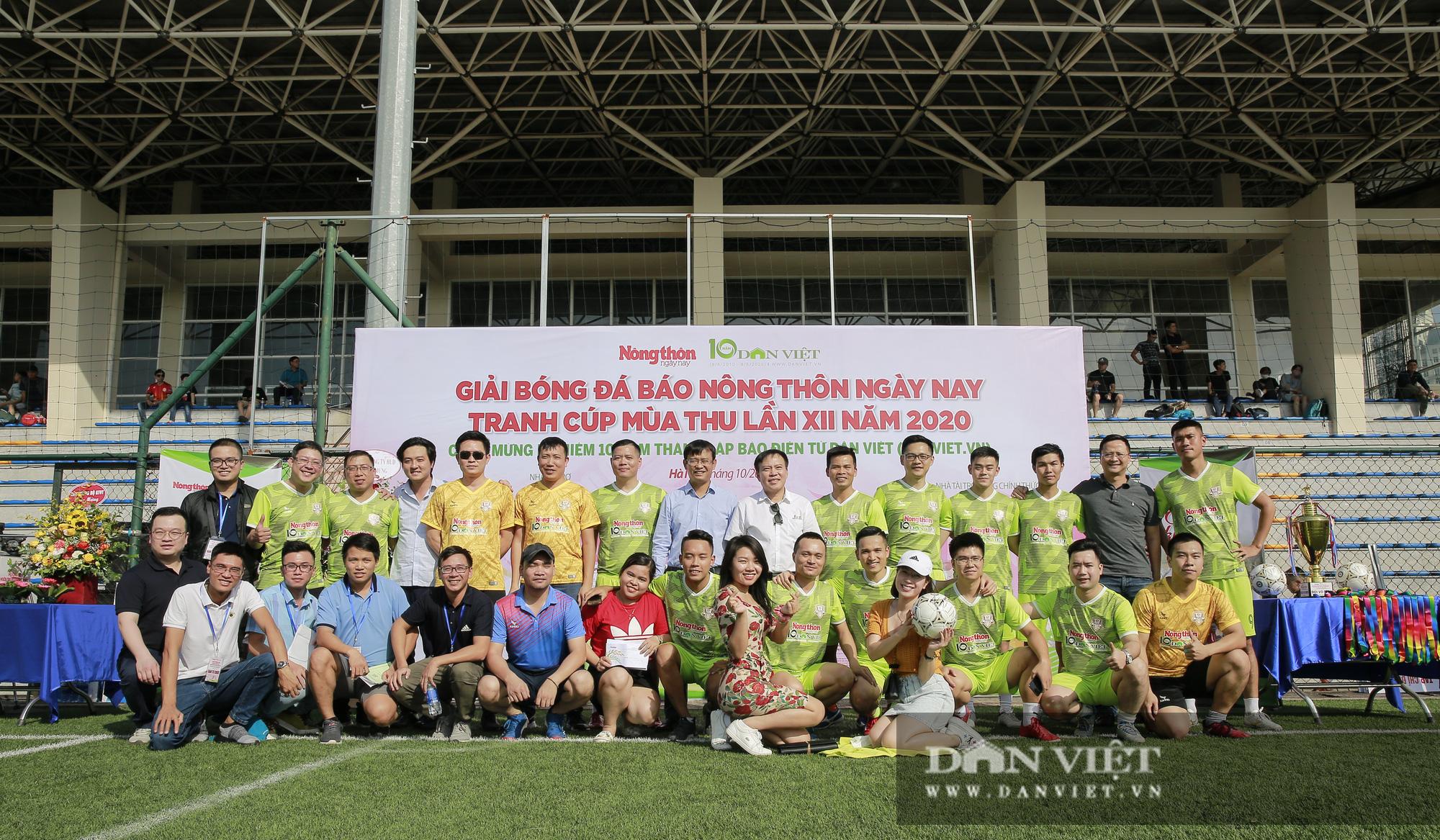 Giải bóng đá báo Nông thôn Ngày nay/Dân Việt lần thứ 12 chính thức khởi tranh - Ảnh 12.