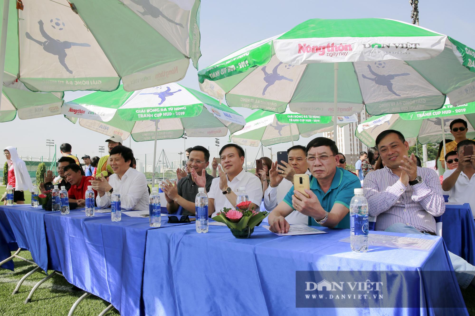 Giải bóng đá báo Nông thôn Ngày nay/Dân Việt lần thứ 12 chính thức khởi tranh - Ảnh 3.