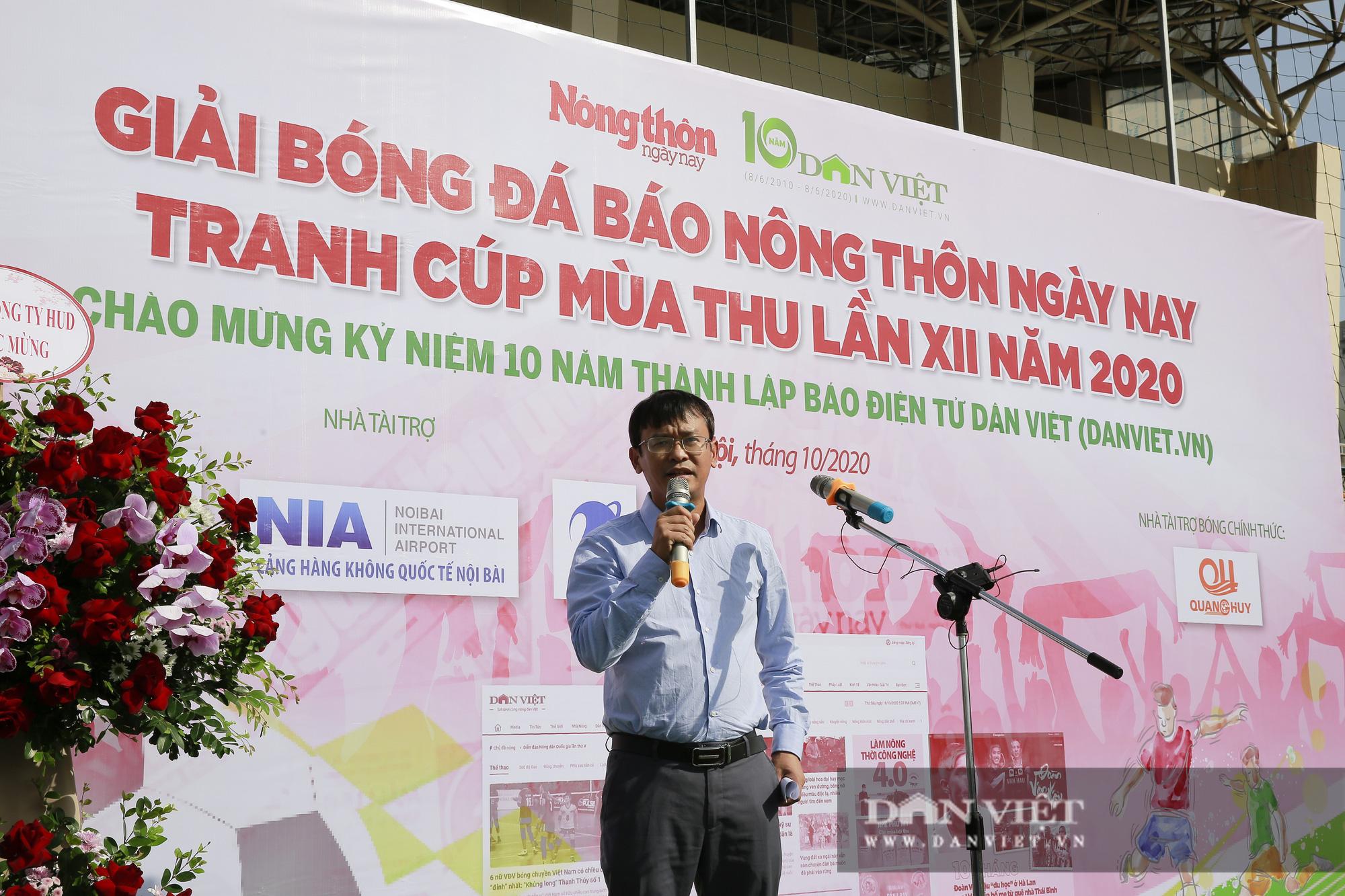 Giải bóng đá báo Nông thôn Ngày nay/Dân Việt lần thứ 12 chính thức khởi tranh - Ảnh 5.