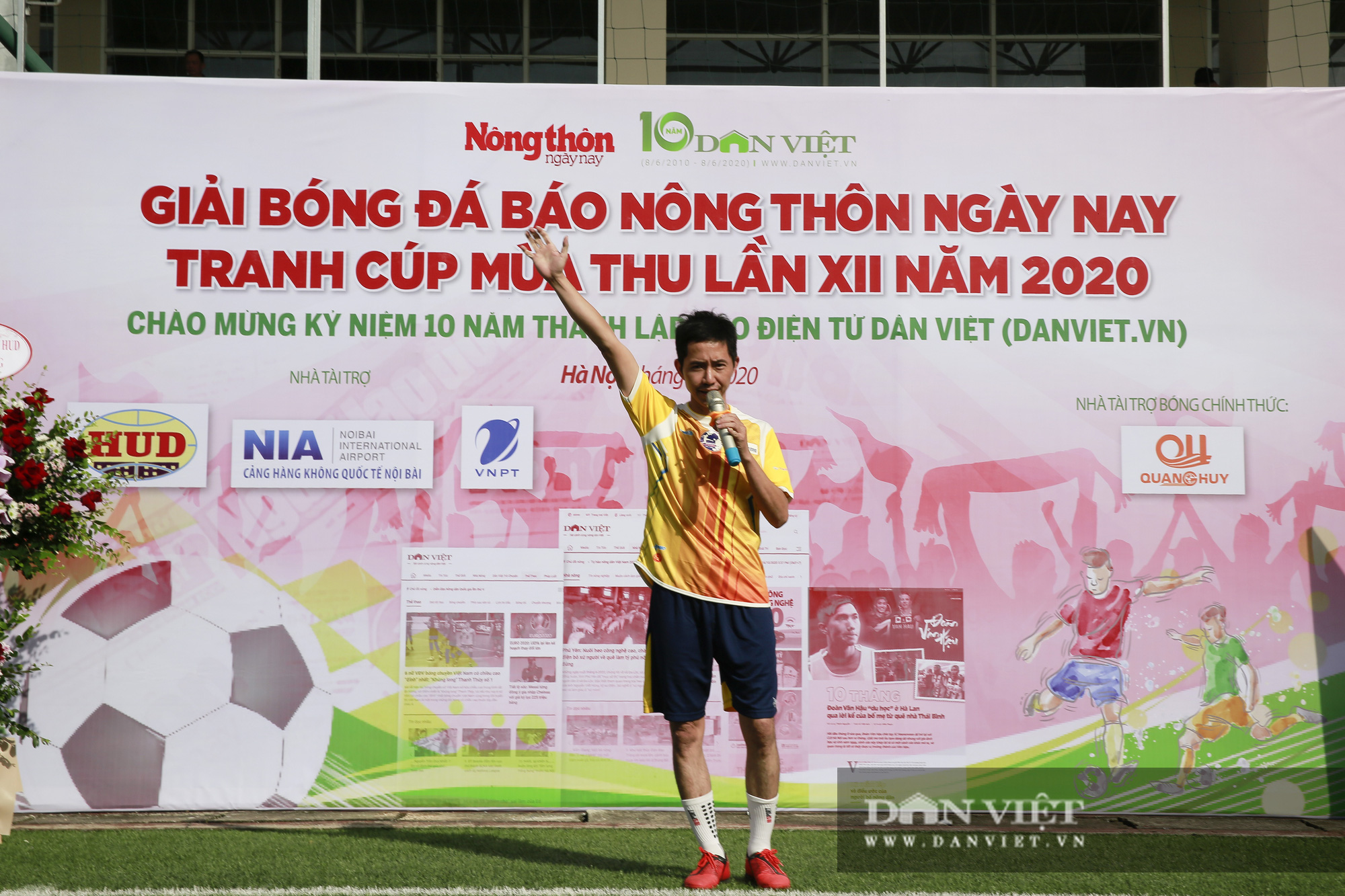 Giải bóng đá báo Nông thôn Ngày nay/Dân Việt lần thứ 12 chính thức khởi tranh - Ảnh 7.
