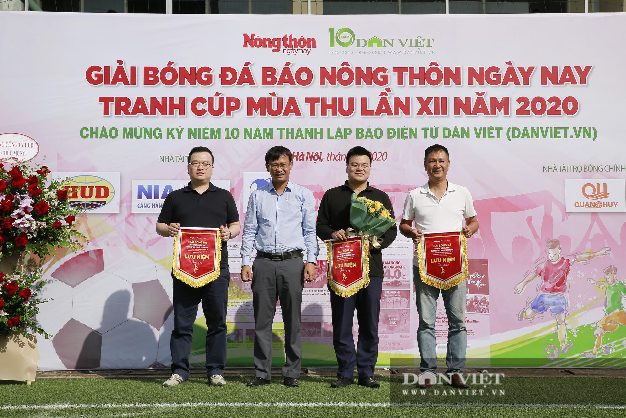 Giải bóng đá báo Nông thôn Ngày nay/Dân Việt lần thứ 12 chính thức khởi tranh - Ảnh 8.