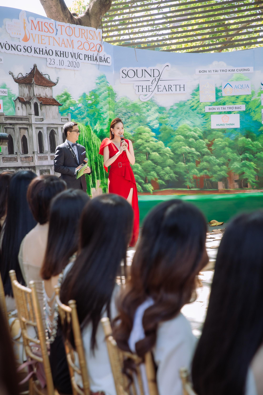 Hoa hậu Khánh Ngân và Ngọc Hân cùng làm ban giám khảo Miss Tourism Vietnam 2020 - Ảnh 3.