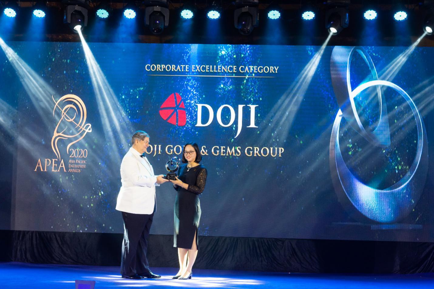Enterprise Asia vinh danh DOJI là Doanh nghiệp Bán lẻ xuất sắc châu Á - Ảnh 1.
