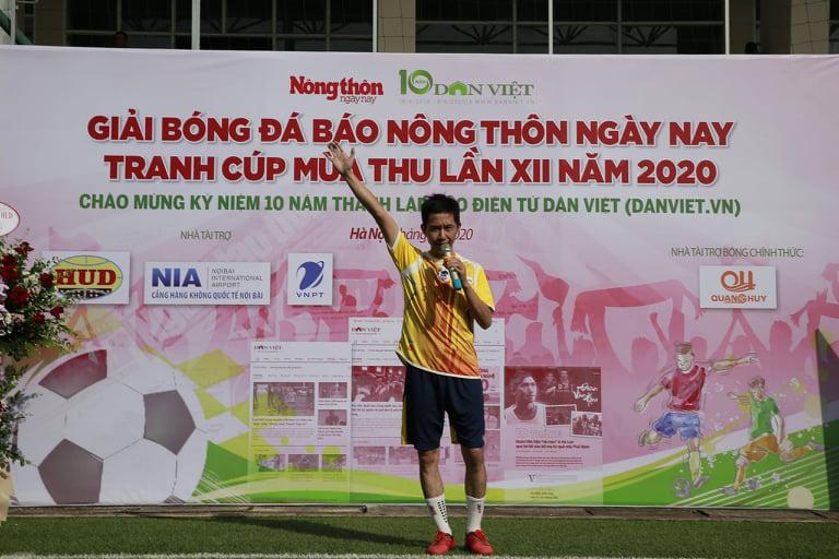 Khai mạc Giải bóng đá NTNN/Dân Việt 2020: Nối vòng tay lớn hướng về miền Trung - Ảnh 7.