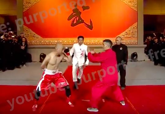 Clip: Chấp 1 tay và 2 chân, võ sĩ MMA dễ dàng võ sư Trung Quốc - Ảnh 1.