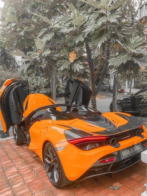 Đại gia miền nam tậu McLaren 720S Spider và loạt đồ hiệu khủng tặng vợ: Chuẩn tuýp soái ca của chị em - Ảnh 3.