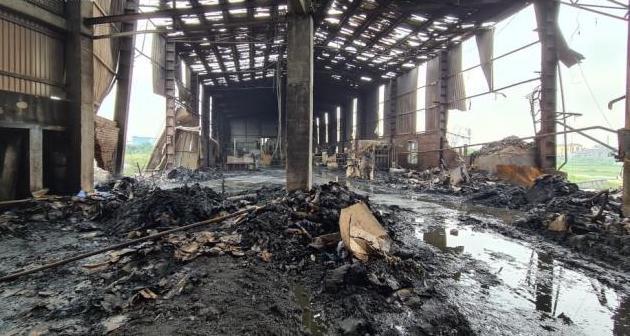 Bắc Ninh: Nổ lò hơi tại xưởng sản xuất giấy, 1 người tử vong - Ảnh 1.