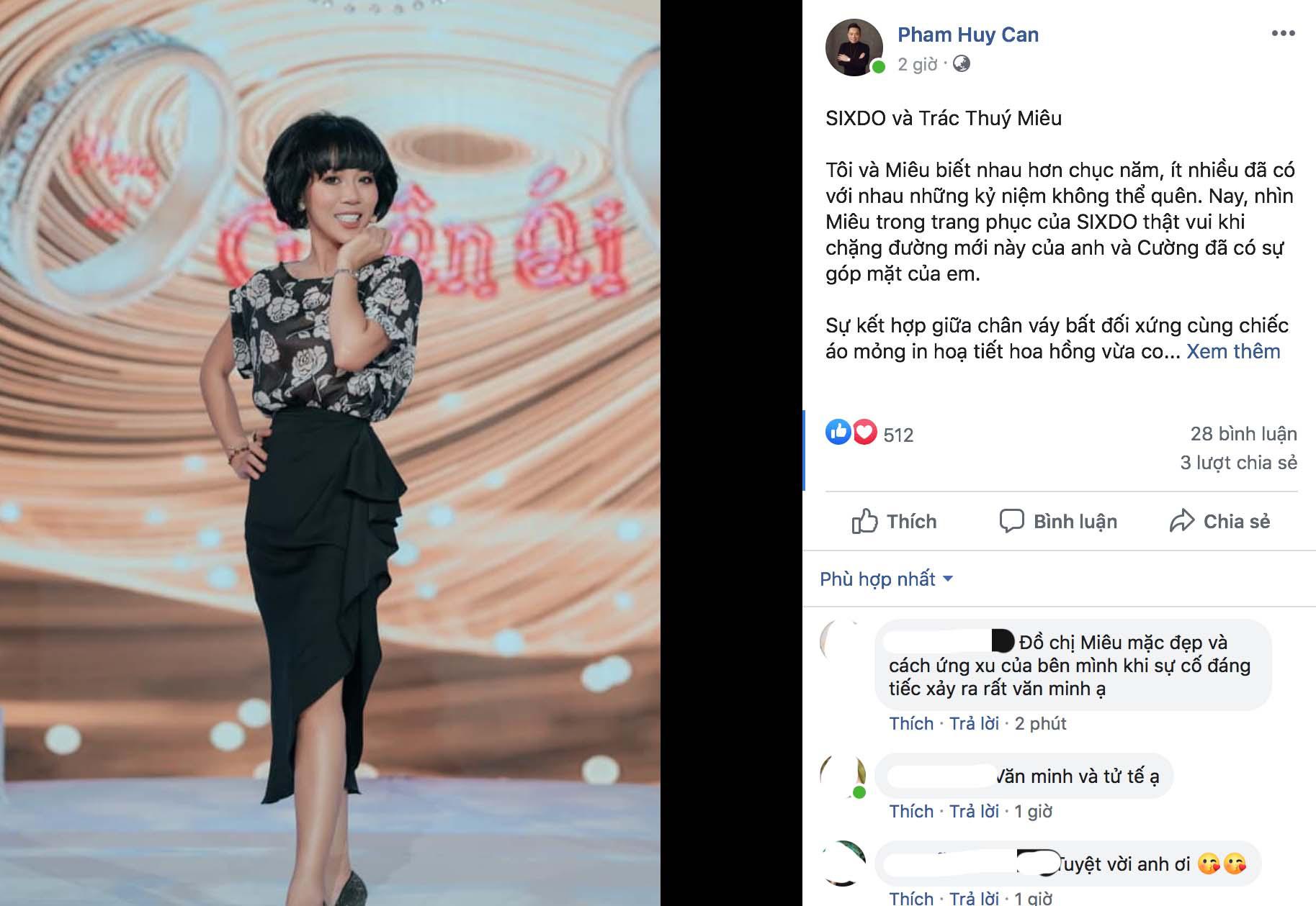 CEO của sâu thời trang Đỗ Mạnh Cường lên tiếng trước việc Trác Thuý Miêu bỏ về và vứt thiệp mời, - Ảnh 1.
