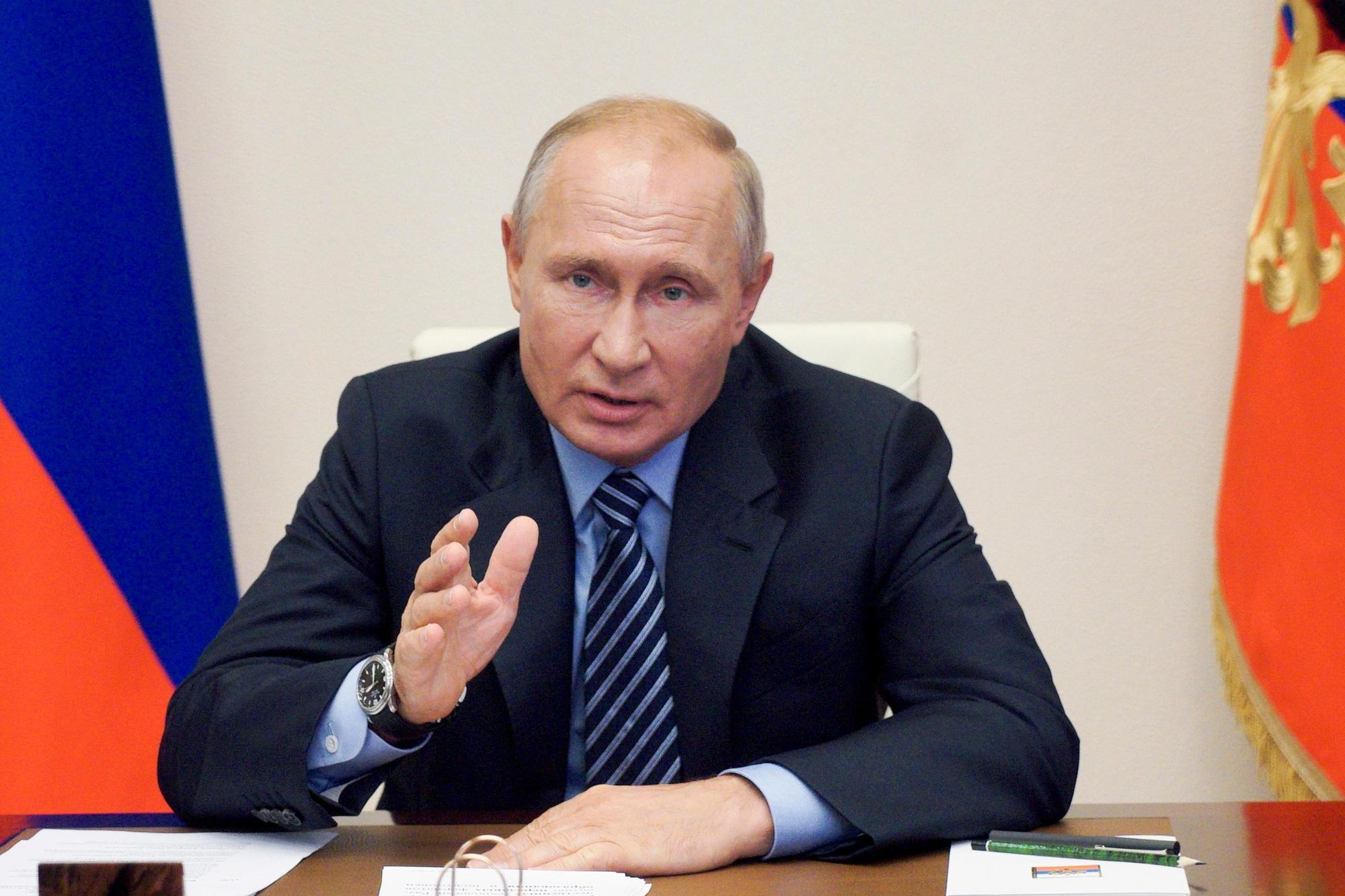 Bầu cử Mỹ: ông Putin bất ngờ lên tiếng bênh vực ứng viên Biden - Ảnh 1.