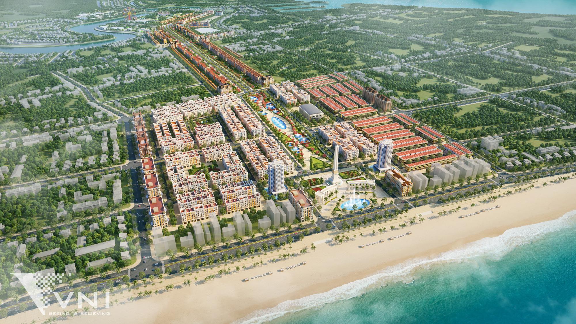 Tập đoàn Sun Group khởi công dự án tỷ USD tại Thanh Hóa - Ảnh 1.