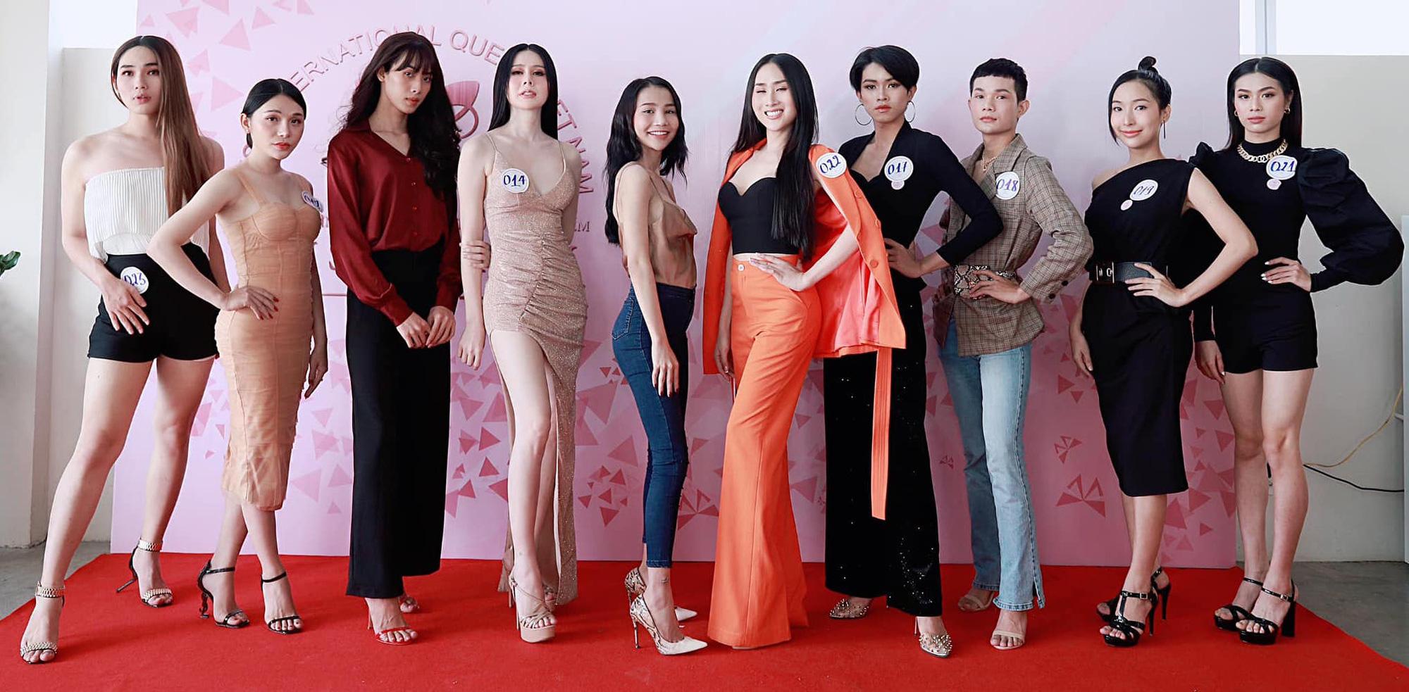 Hoa hậu Chuyển giới Việt Nam 2020: Người lộ nhược điểm hình thể, người làm lố với vẻ ngoài khác lạ - Ảnh 4.