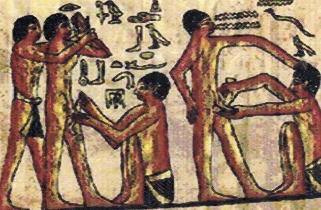 Ngỡ ngàng độc chiêu vệ sinh cơ thể của người Ai Cập cổ đại - Ảnh 3.