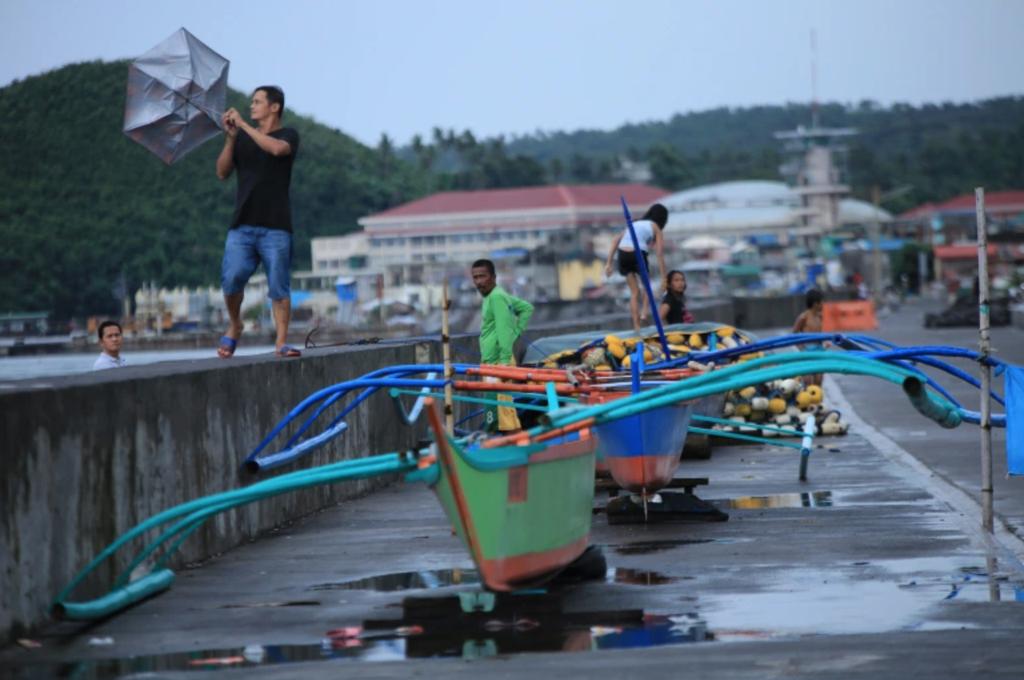 Làng mạc chìm trong biển nước, 3 người chết khi bão Molave quét qua Philippines - Ảnh 7.