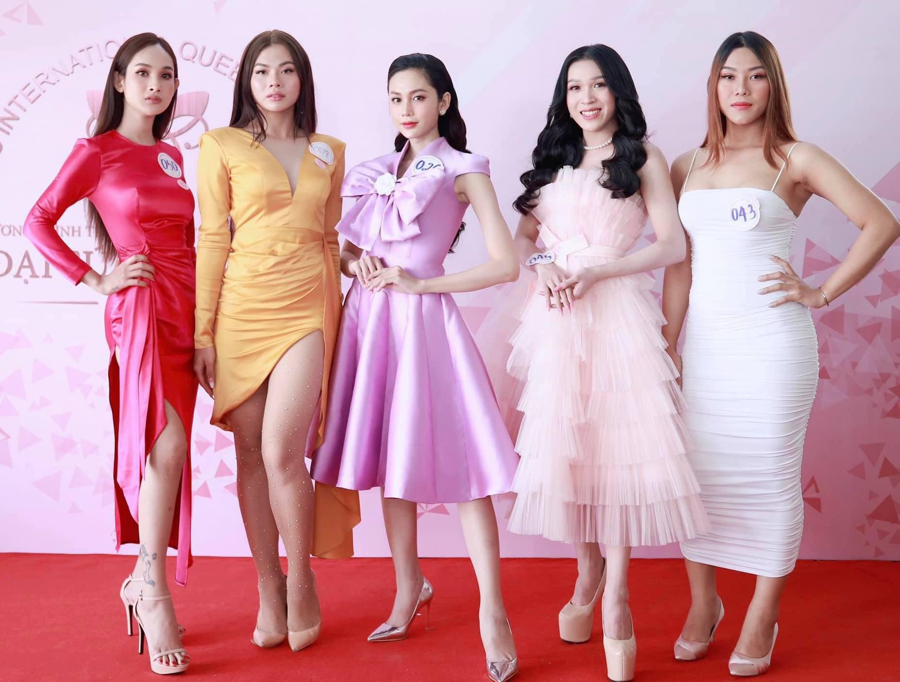 Hoa hậu Chuyển giới Việt Nam 2020: Người lộ nhược điểm hình thể, người làm lố với vẻ ngoài khác lạ - Ảnh 2.