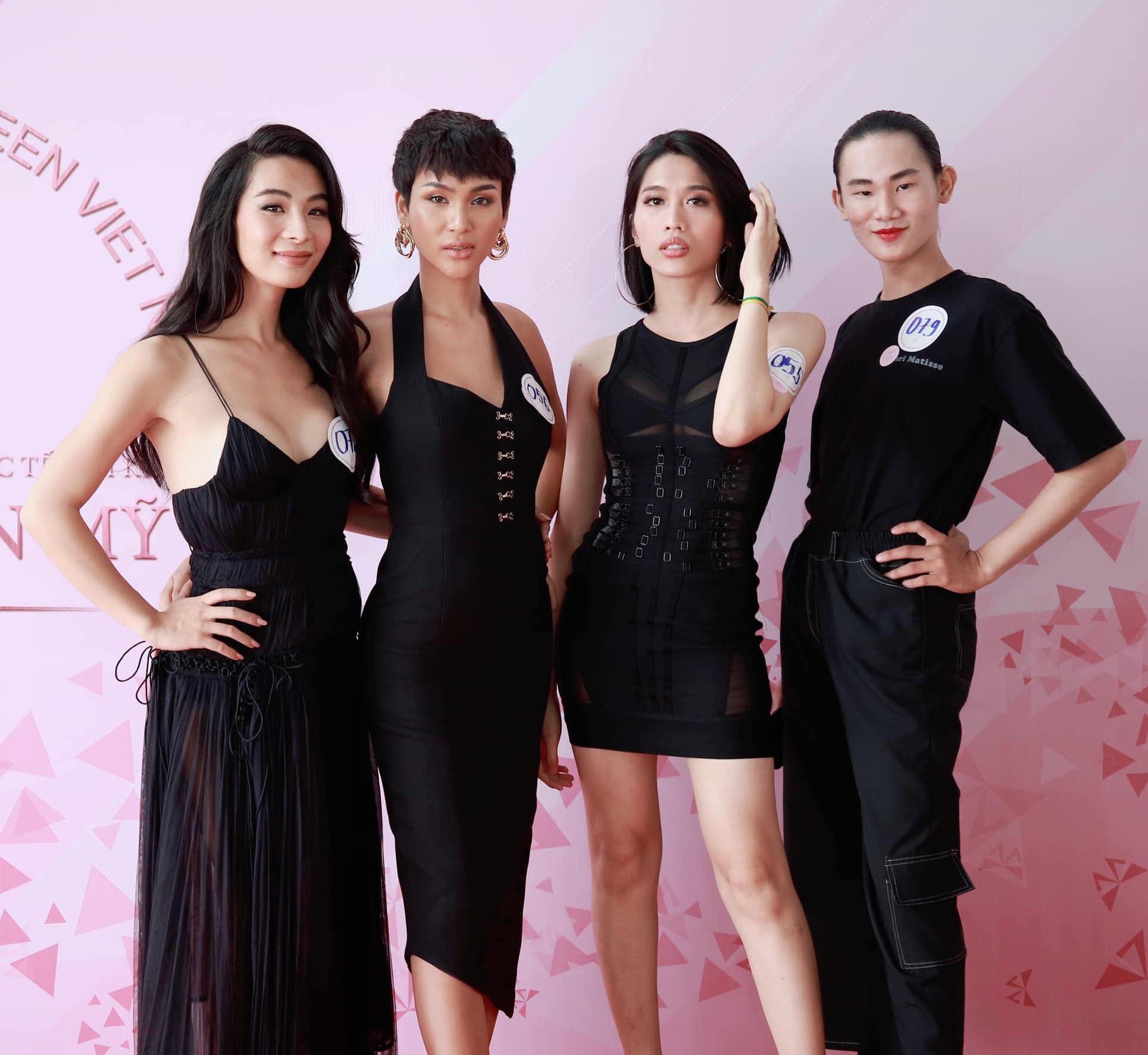 Hoa hậu Chuyển giới Việt Nam 2020: Người lộ nhược điểm hình thể, người làm lố với vẻ ngoài khác lạ - Ảnh 3.