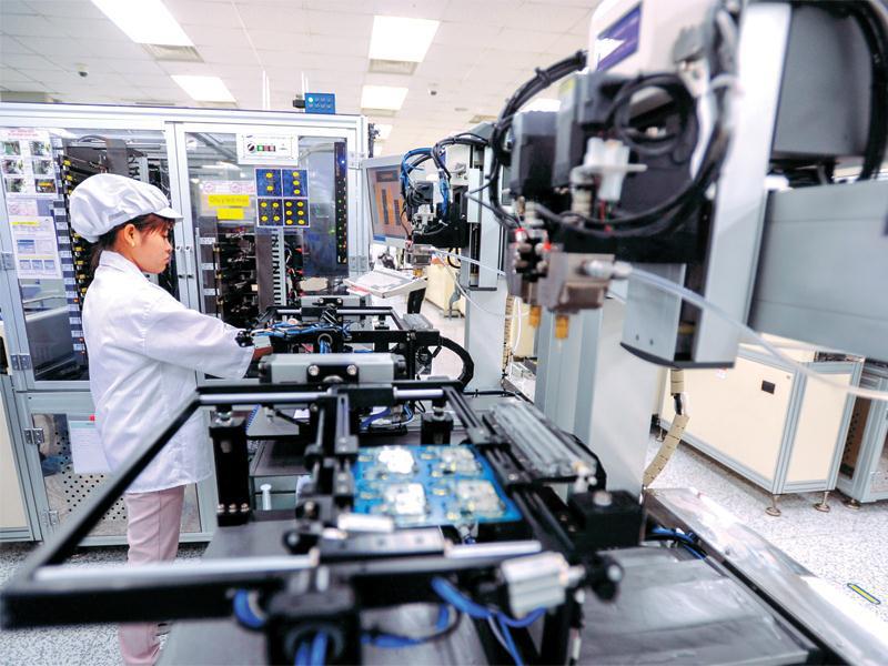 """Công nghiệp chế biến, chế tạo """"hút"""" 10,7 tỷ USD vốn ngoại - Ảnh 1."""