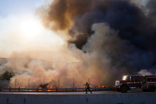 100.000 dân phải sơ tán vì cháy rừng - Ảnh 1.