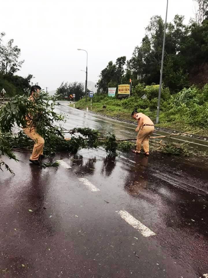 """Bình Định """"cấp tốc"""" dọn dẹp thiệt hại do bão số 9 - Ảnh 6."""