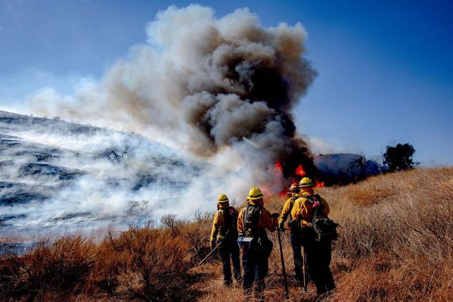 100.000 dân phải sơ tán vì cháy rừng - Ảnh 4.