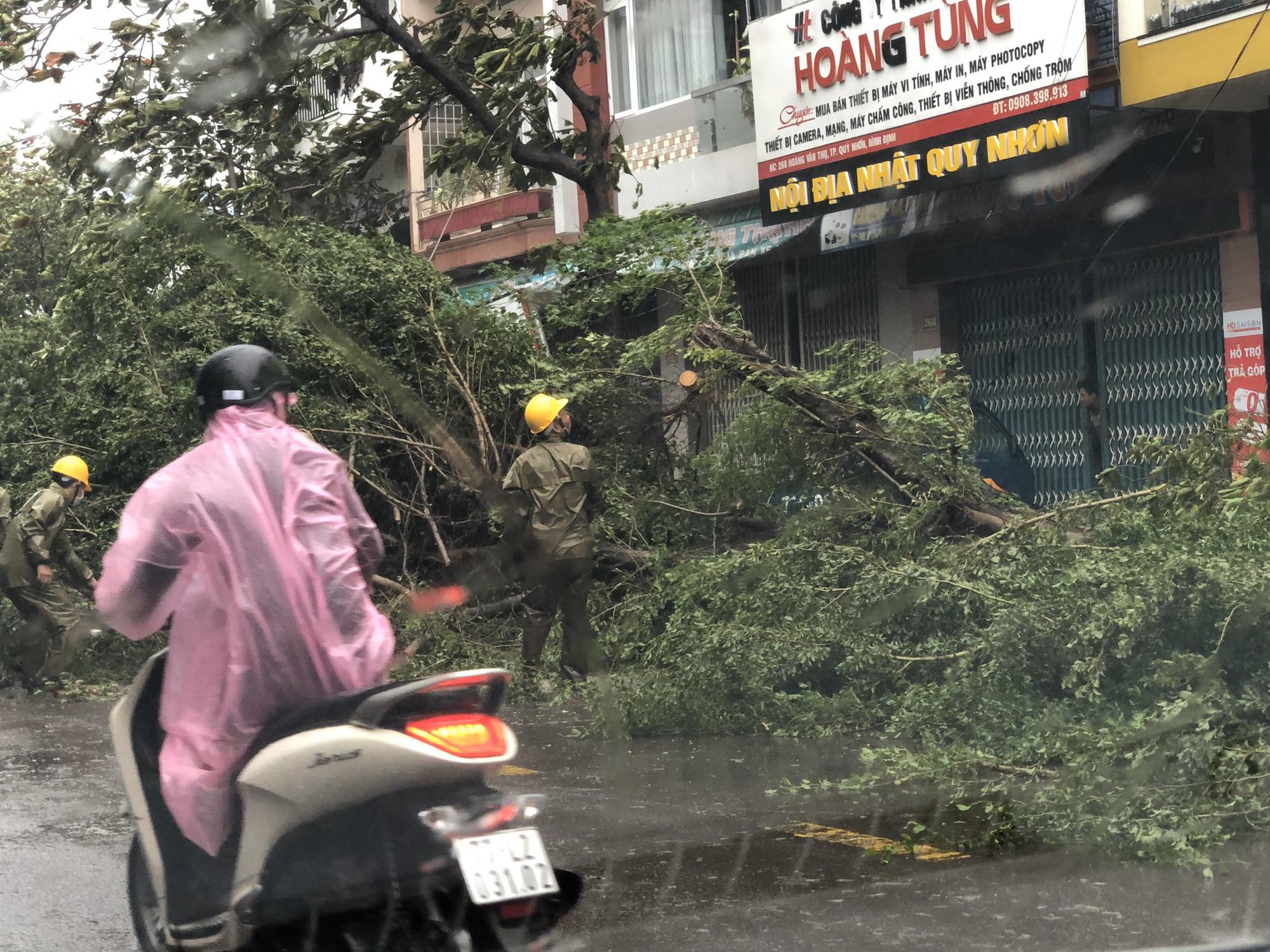 """Bình Định """"cấp tốc"""" dọn dẹp thiệt hại do bão số 9 - Ảnh 7."""
