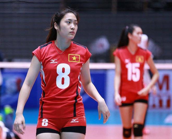 5 hoa khôi của bóng chuyền nữ Việt Nam: Chẳng kém người đẹp thi hoa hậu - Ảnh 7.
