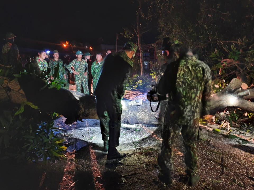 Ảnh, clip: Những hình ảnh đầu tiên của cuộc tìm kiếm cứu nạn vụ sạt lở vùi lấp hơn 50 người ở Nam Trà My - Ảnh 9.