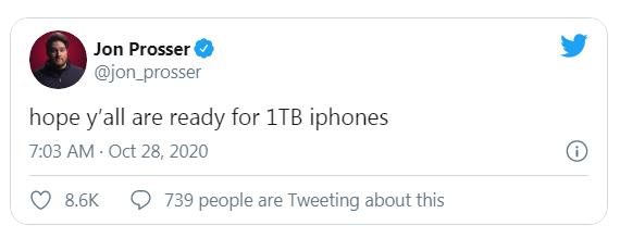 iPhone 13 có thể trang bị bộ nhớ hơn 1.000 GB - Ảnh 1.