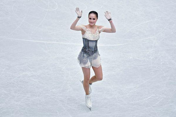 """Vẻ đẹp gây sốt của """"cô gái vàng"""" của làng thể thao Nga - Ảnh 1."""