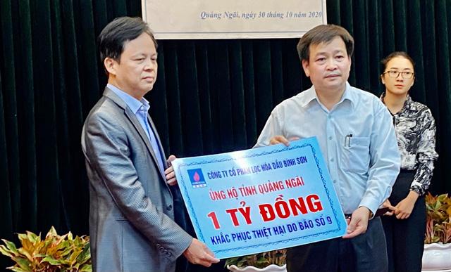 Khắc phục bão số 9: Quảng Ngãi nhận ủng hộ gần 6 tỷ đồng ngay tại buổi phát động  - Ảnh 1.