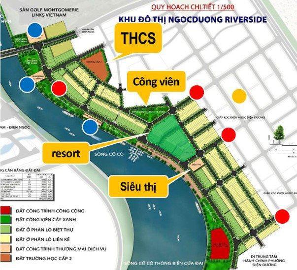 """Khu đô thị Ngọc Dương Riverside hút khách nhờ vị trí """"vàng"""" giáp sông, gần biển - Ảnh 1."""